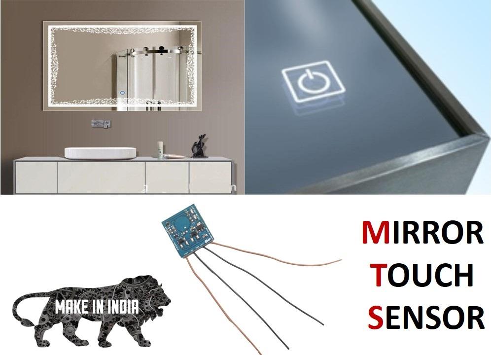 mirror touch sensor, single touch mirror sensor, mirror sensor, mirror touch switch,