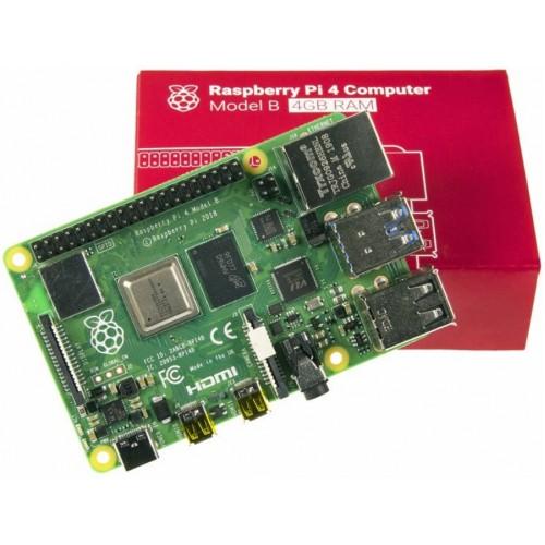 Raspberry Pi 4 Model B Motherboard With 4 GB RAM, raspberry pi 4 model b motherboard, rpi 4 model b, model b pi 4 board, raspberry pi board