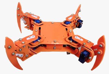 spider robotic kit, spider robot, advance robotic kit, DIY robotic kit, 4DOF robot