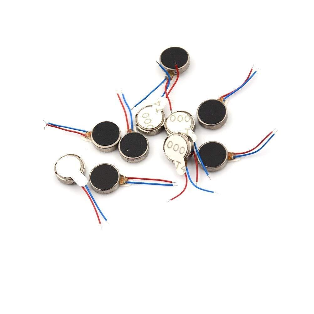 vibration motor, coin motor, flat vibration motor, 2v motor, vibrating motor,