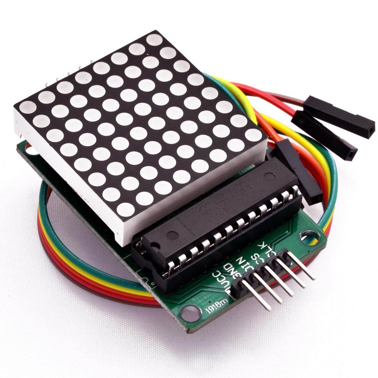 led matrix module, 8x8 led matrix, max7219 module, matrix display module, display matrix
