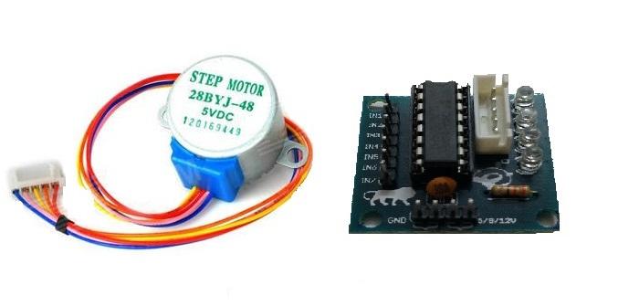 stepper driver module uln stepper driver motor driver stepper motor with driver uln2003 stepper driver uln2003 driver DC 5V 4 Phase 5 Wire Stepper Motor with ULN2003 Driver Board